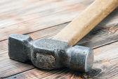 Viejo martillo — Foto de Stock