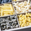 Italian pasta assortment — Stock Photo