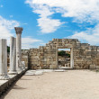 Ancient Greek basilica in Chersonesus Taurica — Stock Photo #48749835
