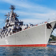 Russian guided missile cruiser Moskva — Stock Photo #48749941