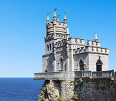 Swallow's Nest in Crimea — Stock Photo