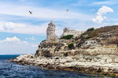 Ruins of ancient Greek city of Chersonesos in Sevastopol — Stock Photo