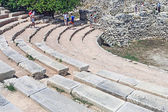 Ancient amphitheater in Chersonesos — Stock Photo