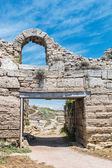 Main gate of the ancient Chersonesos — Stock Photo