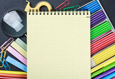 School stationery — Foto de Stock