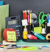 学校に戻る本文用紙シール — ストック写真