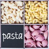 Pasta assortment — Stock Photo