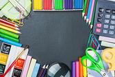 Tablica korkowa do schoolboard — Zdjęcie stockowe