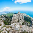 High rocks Ai-Petri of Crimean mountains — Stock Photo #50231437