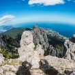 High rocks Crimean mountains — Stockfoto #51065021