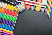 School supplies to the schoolboard   — Stock Photo