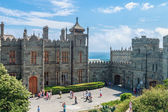 Count Vorontsov Palace in Alupka — Stock Photo