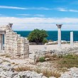 Ancient Greek basilica in Chersonesus Taurica — Stock Photo #51731915