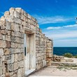 Ancient Greek basilica in Chersonesus Taurica — Stock Photo #51731923