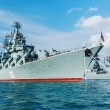 Russian guided missile cruiser Moskva — Stock Photo #51732015