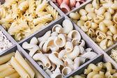 Italian pasta assortment   — Foto Stock