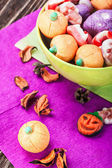 Jujube and pumpkin souffle  — Stock Photo