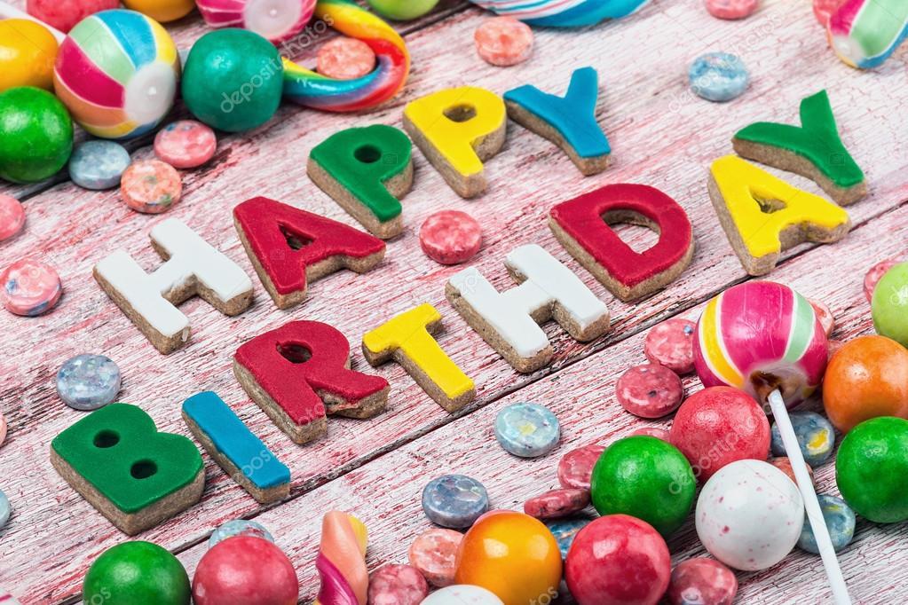 с днем рождения картинки сладости
