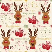 Christmas pattern seamless — Stock Vector