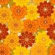 Abstract seamless pattern with flowers — Stock Vector #1791674