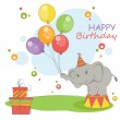 Happy Birthday card — Stock Vector #19556093