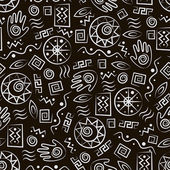 Arte tribal — Vector de stock