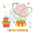Happy Birthday! — Stock Vector