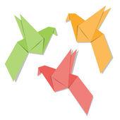 Origami — Vecteur