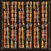 Tribal art. — Stock Vector