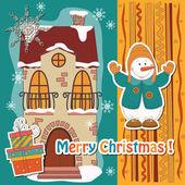 Happy holidays! — Stock Vector