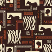 African design. — Stockvektor