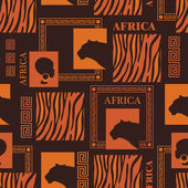 African design. — Stock vektor