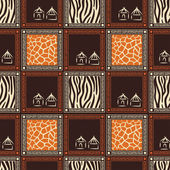 Diseño africano. — Vector de stock