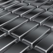 Platinum bars — Stock Photo #41088655