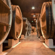 Stock Photo: Wine cellar underground storage