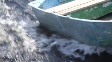 Boat close up — Stock Video