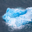 Small blue iceberg — Stock Photo