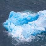 Small blue iceberg — Stock Photo