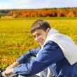Young man outdoor — Stock Photo