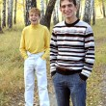 Teenage boys outdoor — Stock Photo #12142898