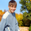 Stock Photo: Teenager outdoor