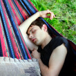 Young Man Sleeping — Stock Photo #14892039
