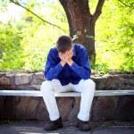 Sad Young Man — Stock Photo #15691533