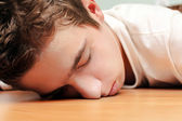 Young Man Sleeping — Stockfoto