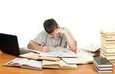 Estudiante atado — Foto de Stock