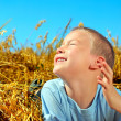 Royalty-Free Stock Photo: Boy In The Field