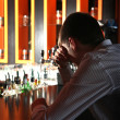 Sad Young Man at the Bar — Stock Photo #21680231