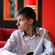 Pensive Young Man — Stock Photo #21680257