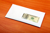 Envelope With a Money — Stock Photo