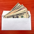 Envelope With a Money — Stock Photo #22452759